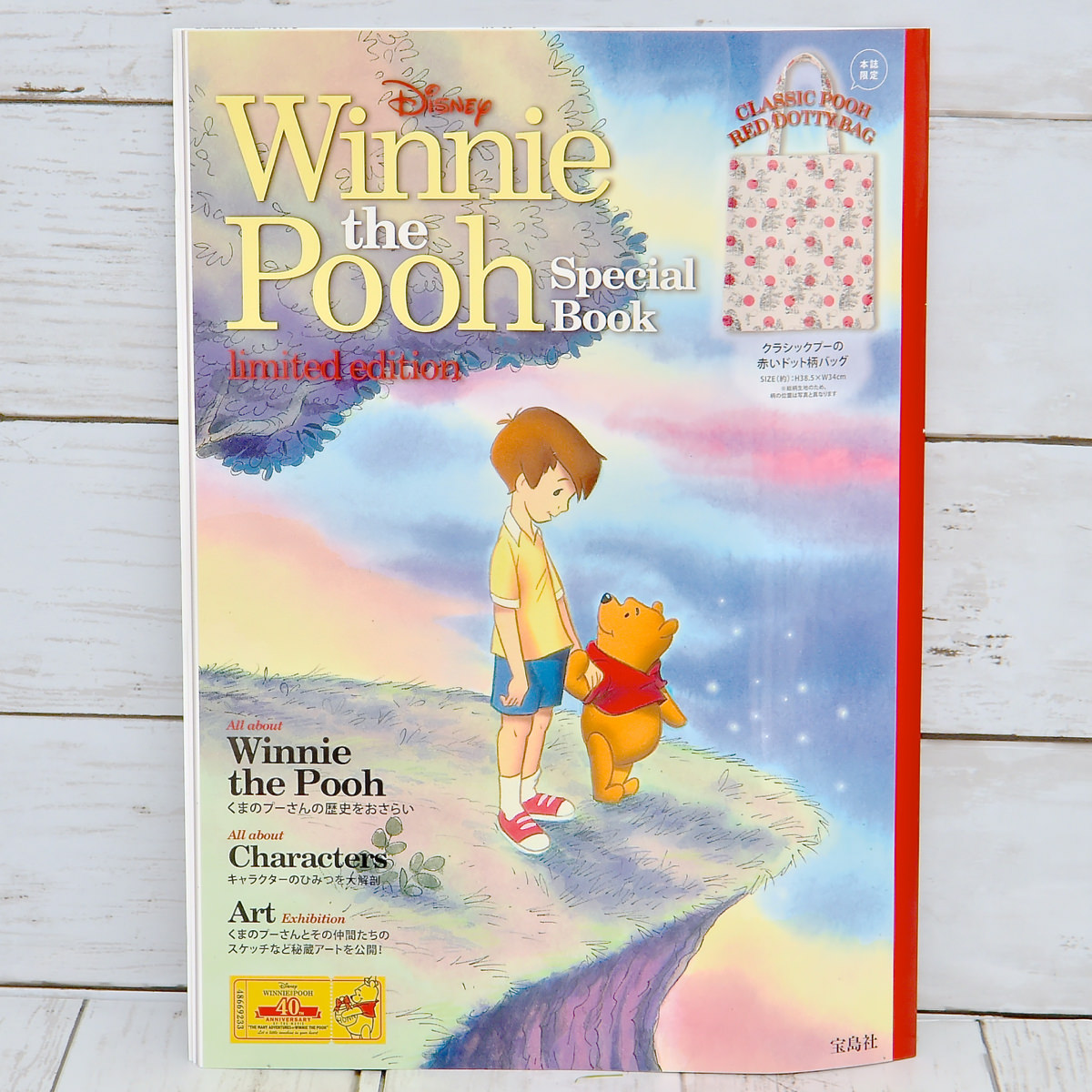 Disney Winnie the Pooh Special Book Limited Edition