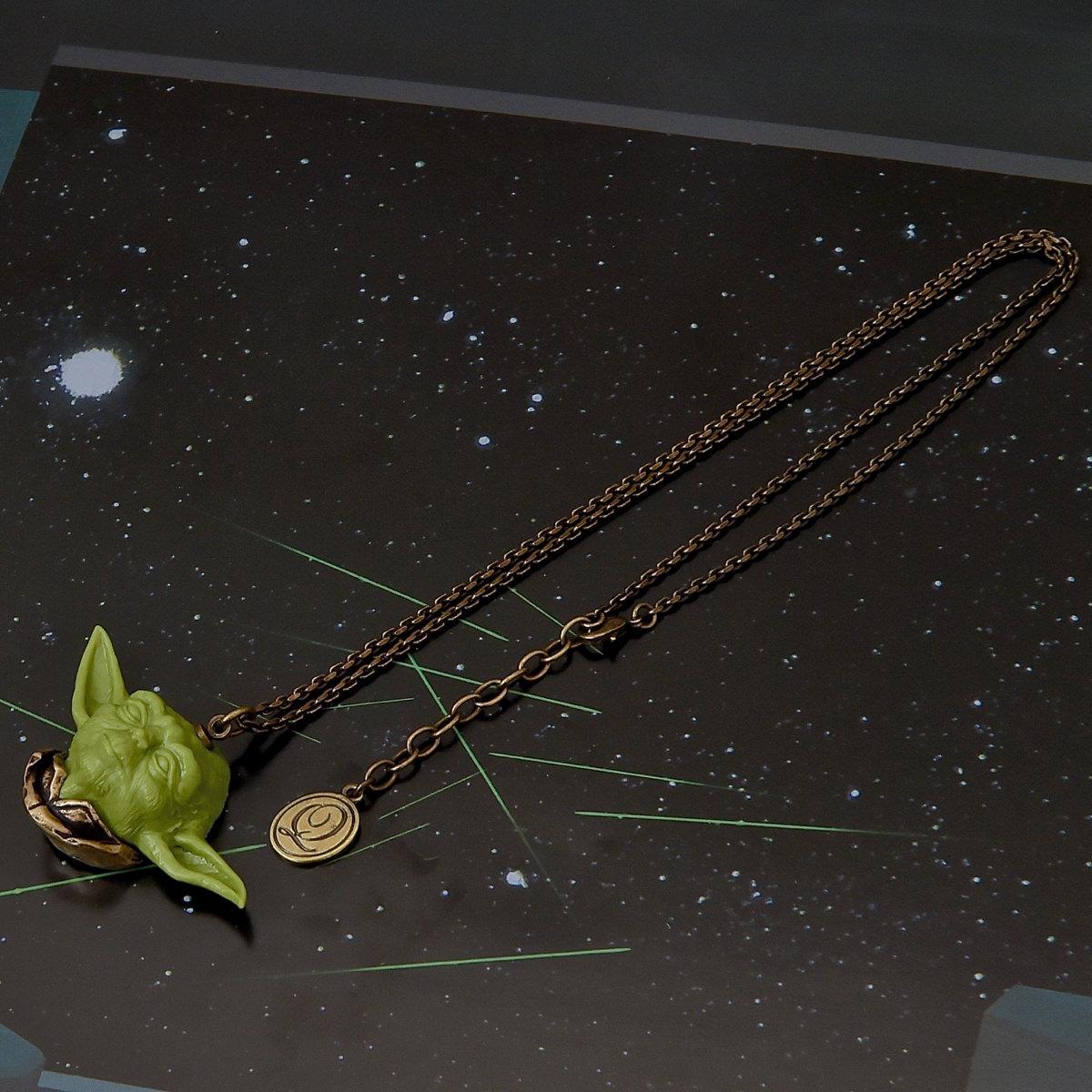 """""""ヨーダ""""Chocolat Necklace(チョコレート・ネックレス)"""