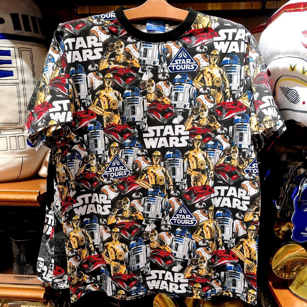 反乱軍総柄Tシャツ