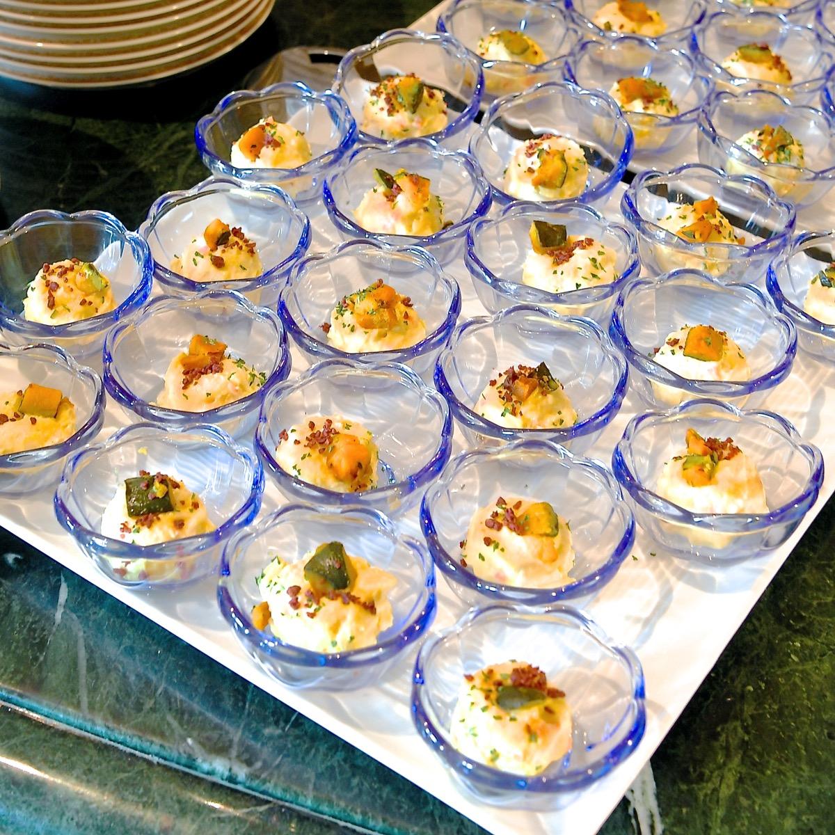 パンプキンとポテトのサラダ