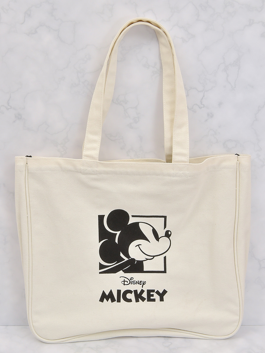 トートバッグ Drawing Mickey裏