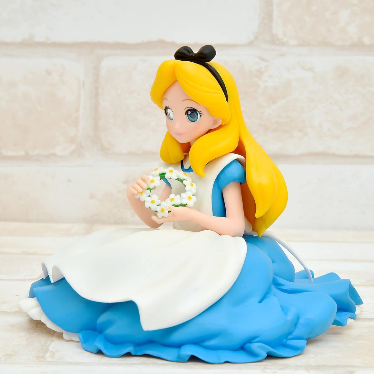 バンプレスト Disney Characters Crystalux-Alice-斜め