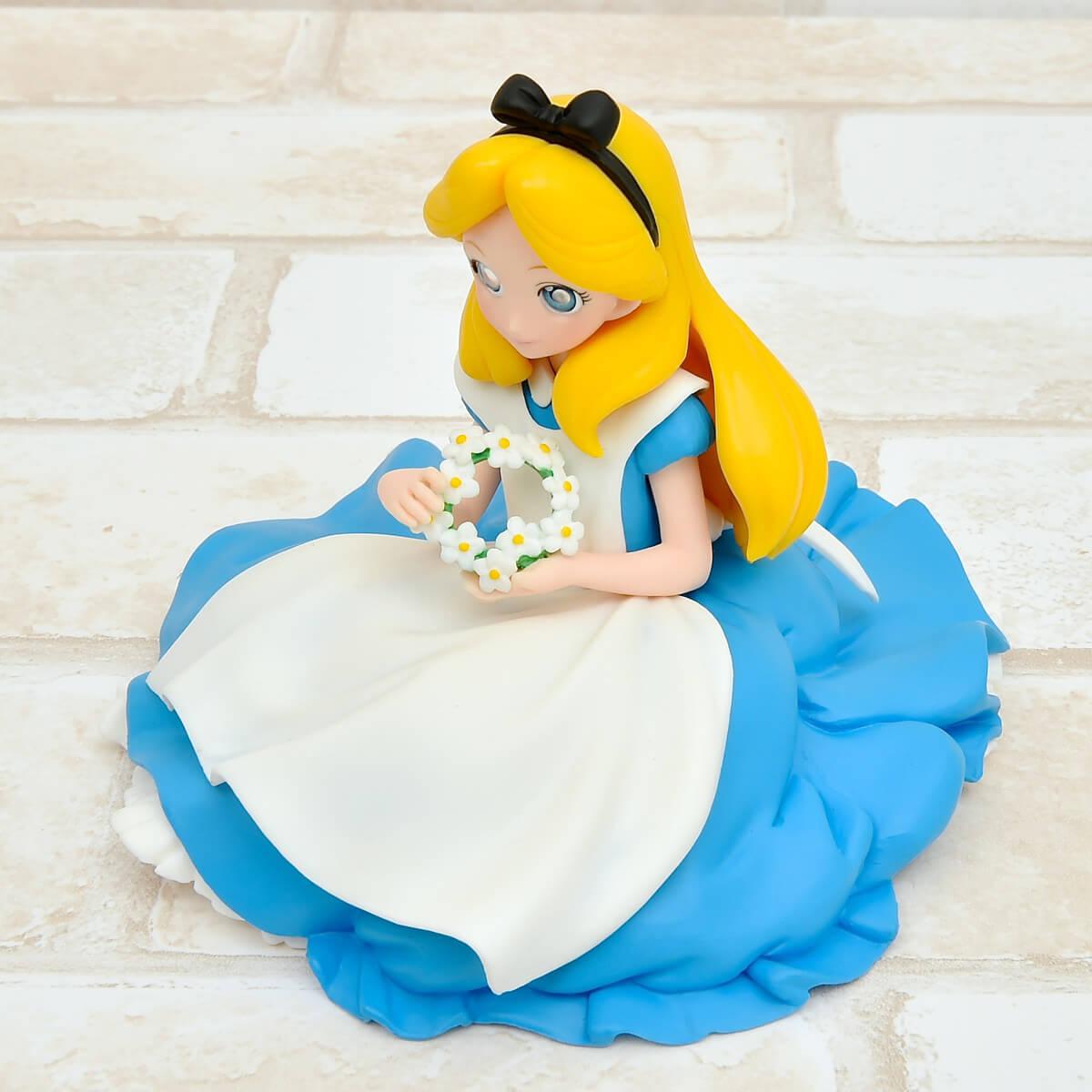 バンプレスト Disney Characters Crystalux-Alice-斜め上