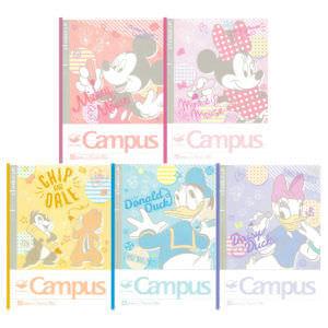サンスター文具ディズニーデザインコレクションCampus(キャンパスノート)