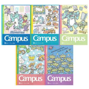 サンスター文具「ディズニー/ピクサー」 Campus(キャンパスノート)