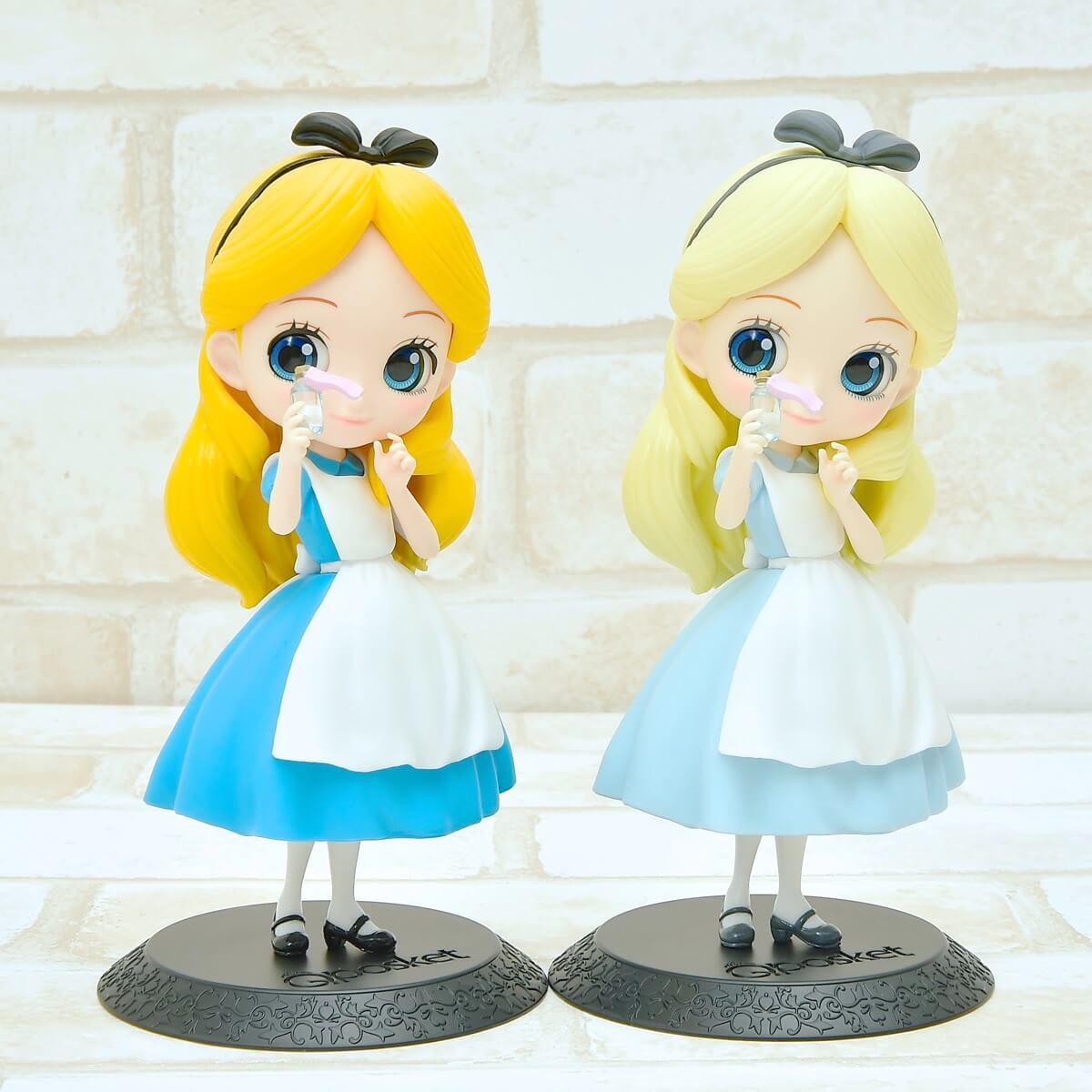 バンプレスト「Q posket Disney Characters -Alice Thinking Time-」