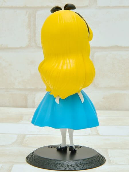 バンプレスト「Q posket Disney Characters -Alice Thinking Time-」通常カラー後ろ
