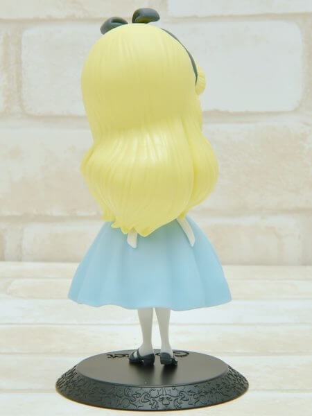 バンプレスト「Q posket Disney Characters -Alice Thinking Time-」パステルカラー後面