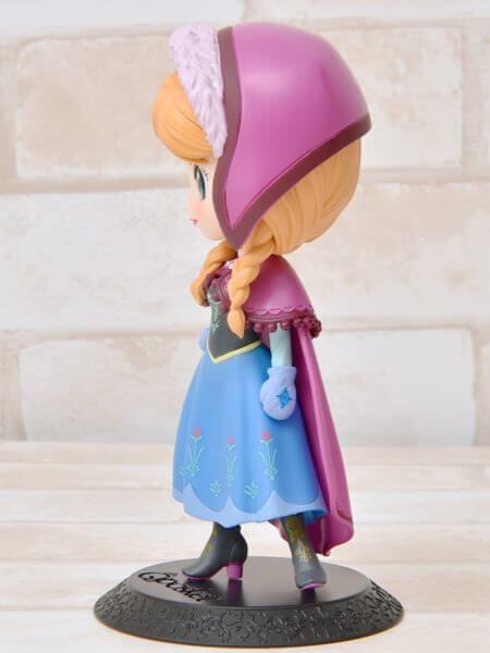 バンプレスト「Q posket Disney CharactersAnna」パステル 左