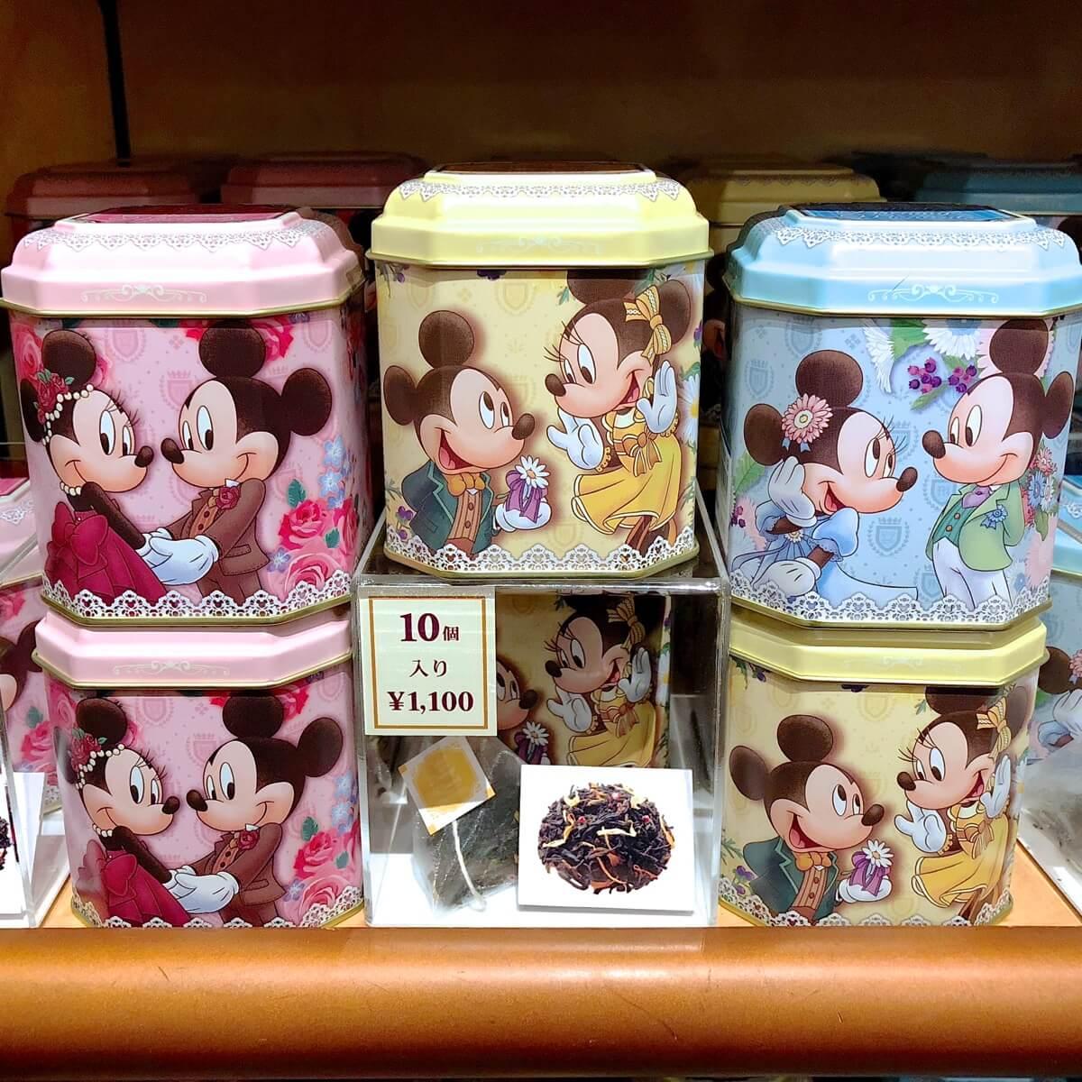 """ミッキー&ミニー缶パッケージがかわいい!ディズニーホテル""""sweet and"""