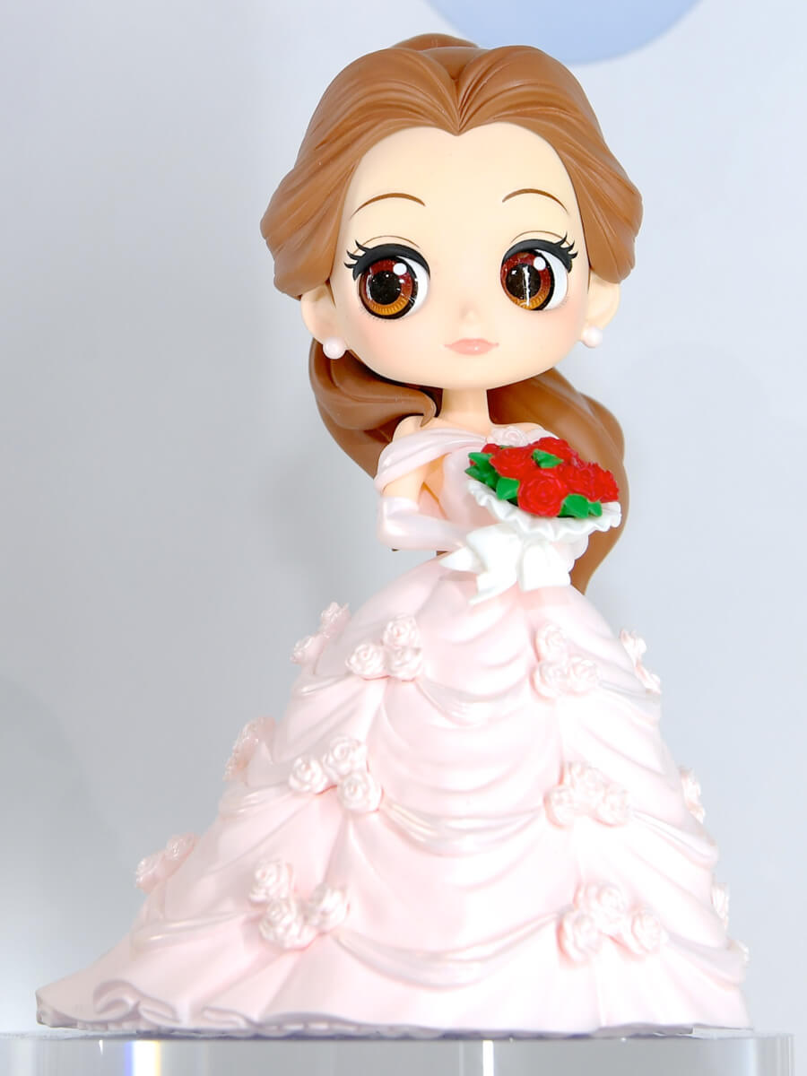 「Q posket Disney Characters - Belle Dreamy Style -」ピンク