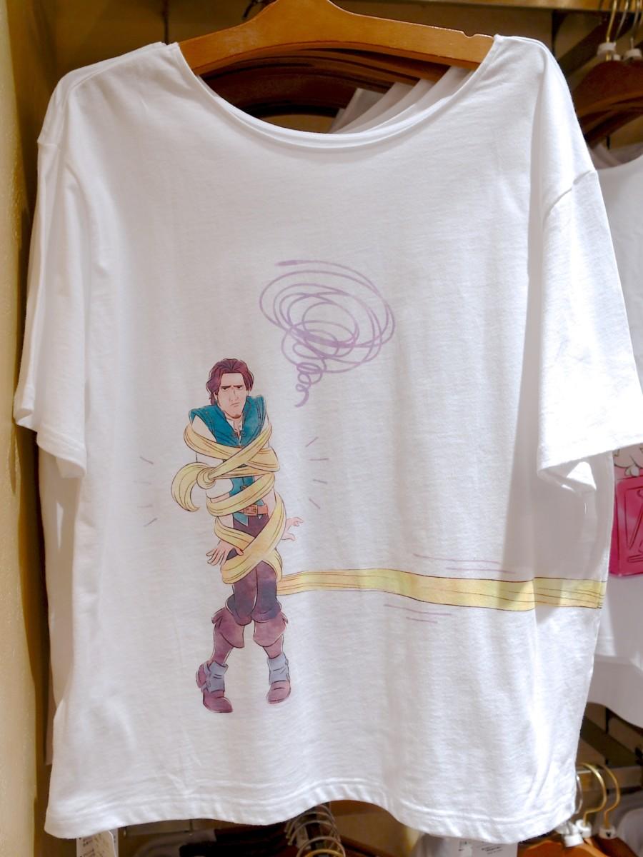 塔の上のラプンツェル両面デザインTシャツ バックデザイン