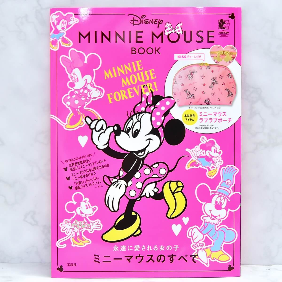 Disney MINNIE MOUSE BOOK 表紙