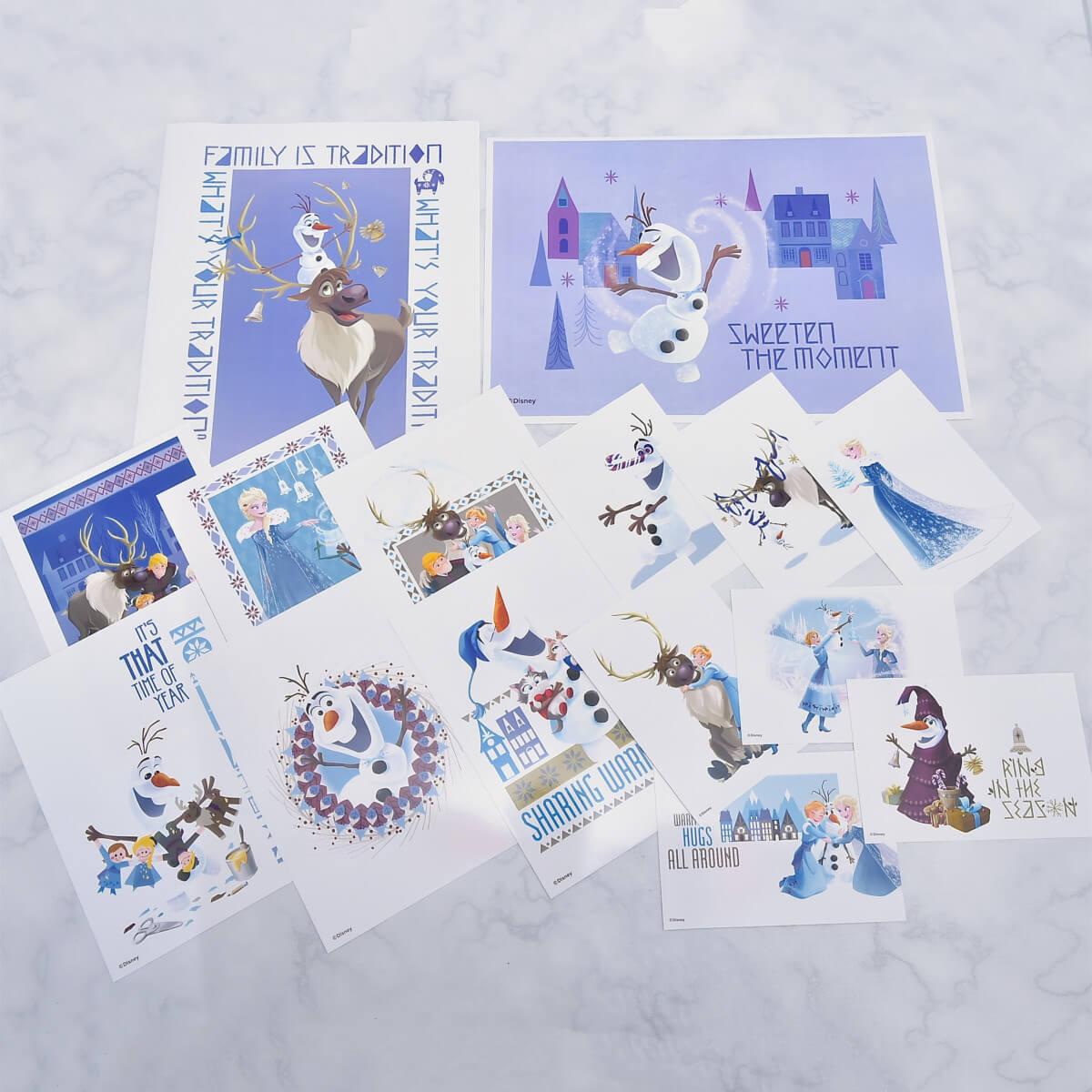 Disney『アナと雪の女王/家族の思い出』ブロマイドくじ