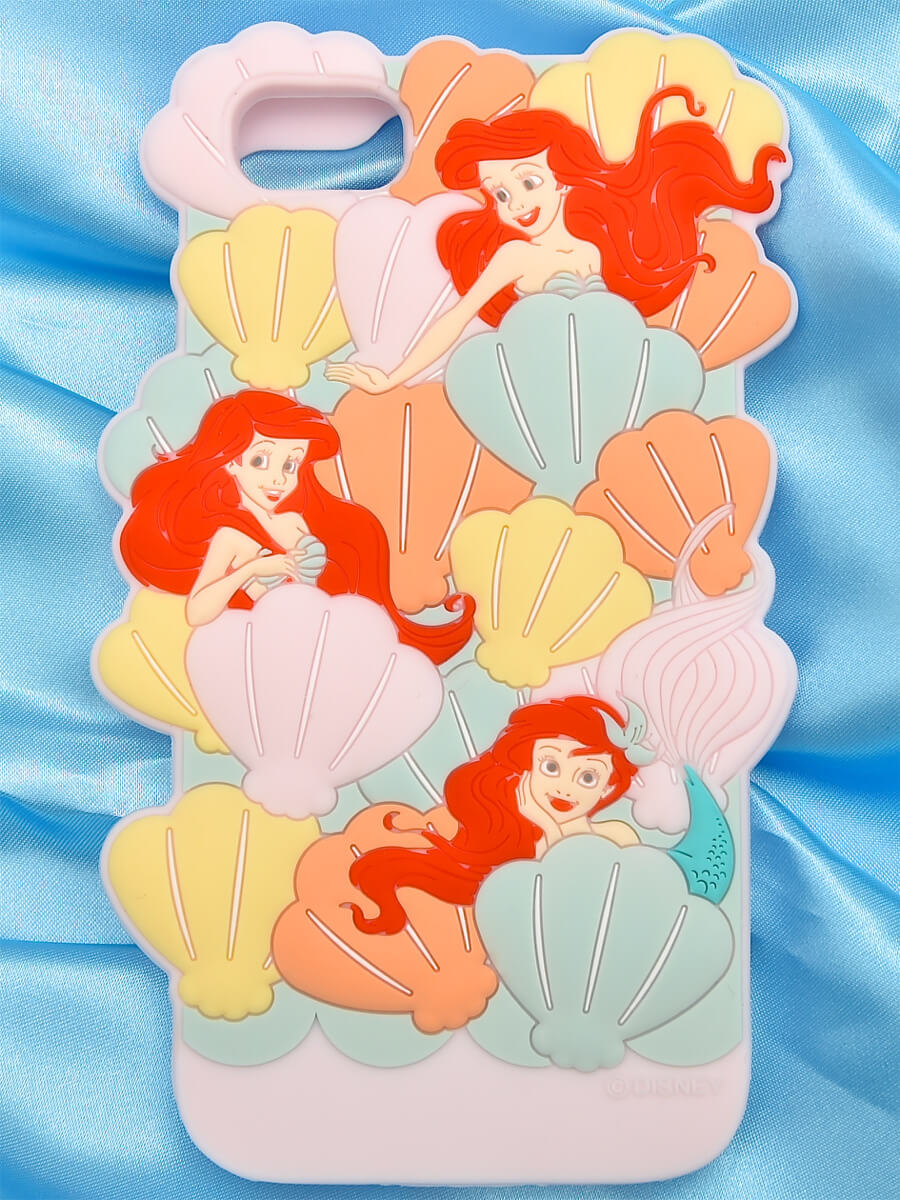 tocco closet ディズニー「iPhoneケース~In the shell~The little MERMAID ver」ピンク