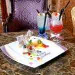 """ドリーマーズ・ラウンジTokyo Disney Resort 35th """"Happiest Celebration!"""" デザートメドレー&スペシャルドリンク"""