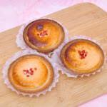 BAKE CHEESE TART「焼きたてストロベリーチーズタルト」