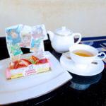 """ハイピリオン・ラウンジ 「Tokyo Disney Resort 35th""""Happiest Celebration!""""」ケーキセット"""