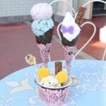 """アイスクリームコーン""""東京ディズニーリゾート35周年 Happiest Celebration""""スペシャルメニュー"""