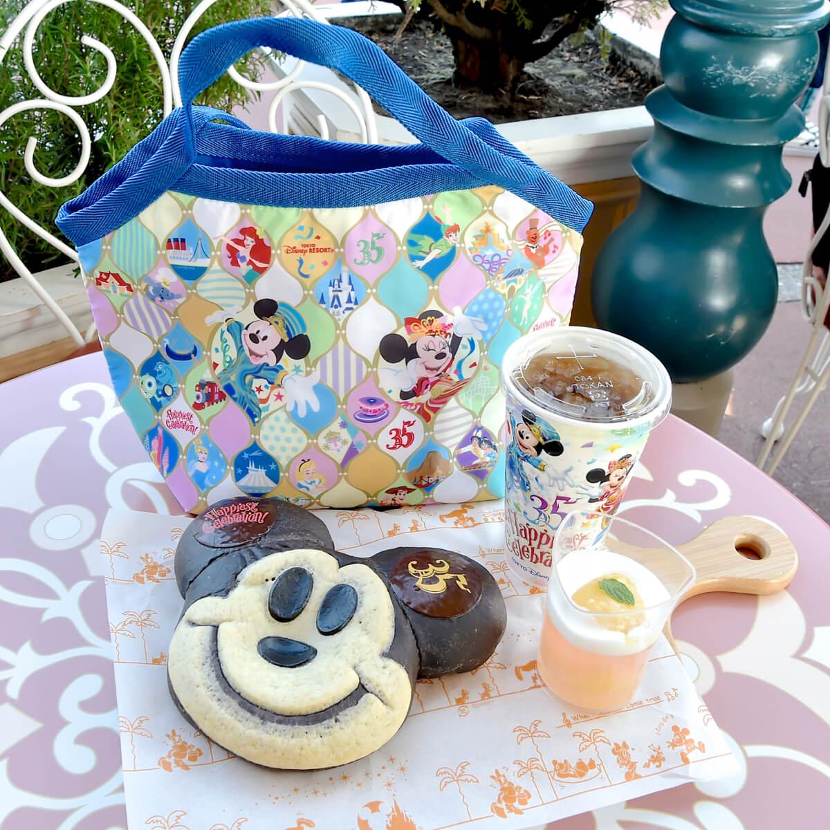 """スウィートハート・カフェ「東京ディズニーリゾート35周年""""Happiest Celebration!""""」セット"""