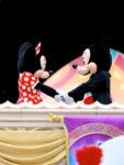 キスをするミッキー&ミニー2