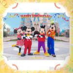 東京ディズニーランド2018「Happy Anniversary」スナップフォト