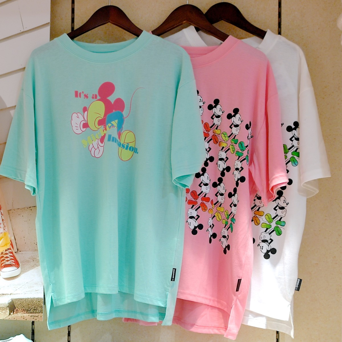 Tシャツ3色