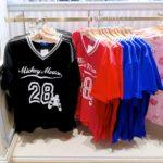 東京ディズニーランド スポーツウェア風Tシャツ