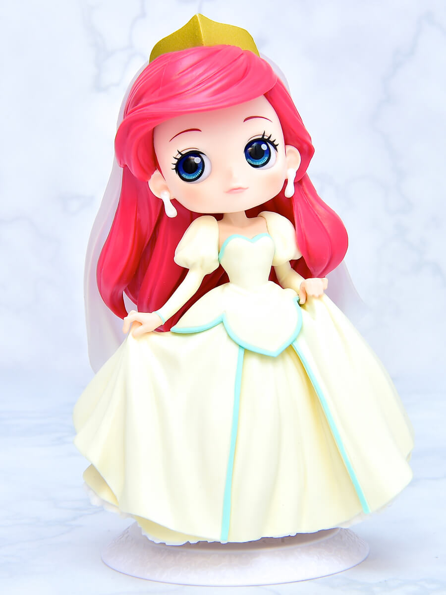 Q posket Disney Characters-Ariel Dreamy Style-イエローカラー