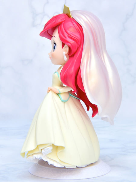 Q posket Disney Characters-Ariel Dreamy Style-イエローカラー左