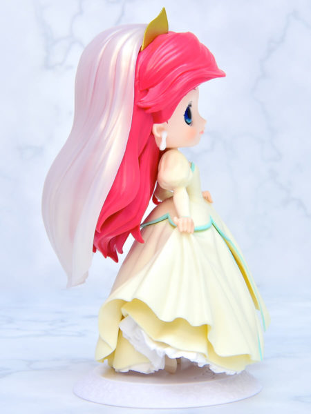 Q posket Disney Characters-Ariel Dreamy Style-イエローカラー右