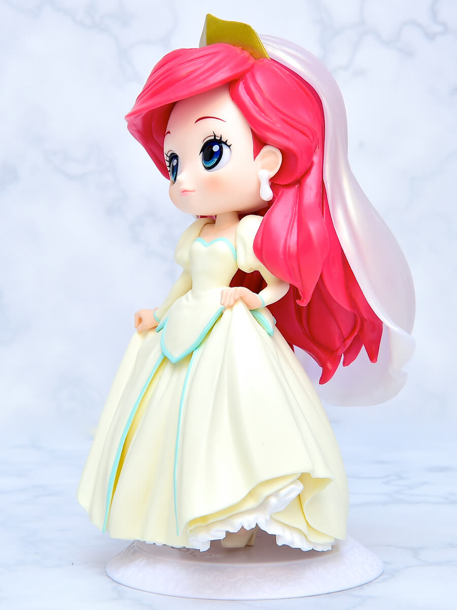 Q posket Disney Characters-Ariel Dreamy Style-イエローカラー斜め