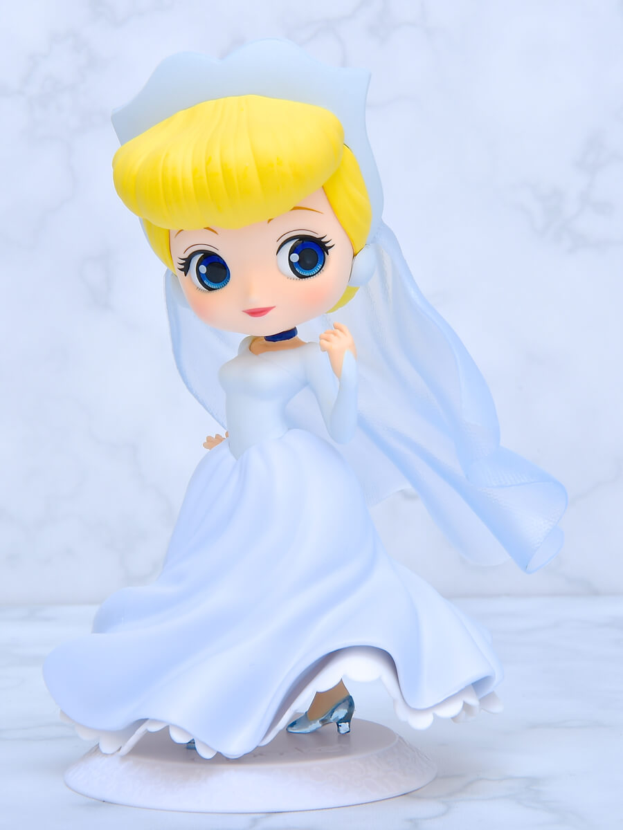 Q posket Disney Characters-Cinderella Dreamy Style- ブルー