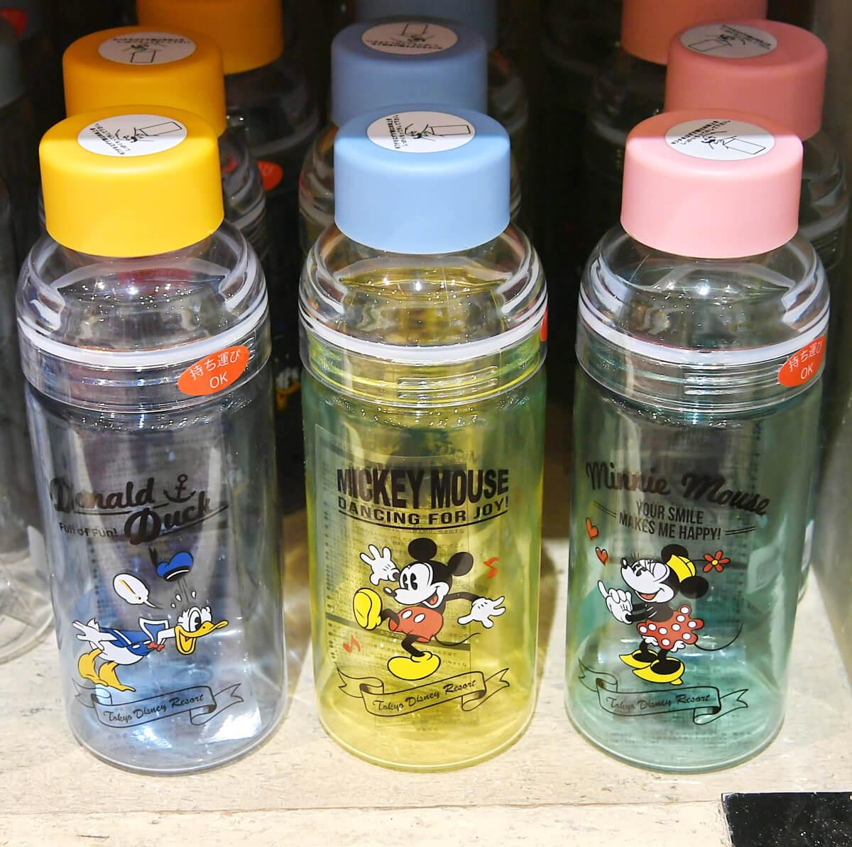 東京ディズニーランド「ミッキー&フレンズ」ドリンクボトル