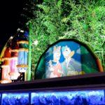 東京ディズニーランド ディズニー七夕デイズ2018デコレーション 夜