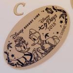 ディズニーシーステーション スーベニアメダル