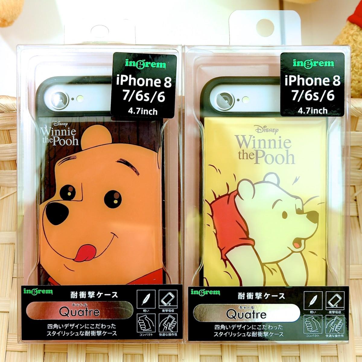 イングレム キデイランドオリジナルデザイン『くまのプーさん』iPhoneケース
