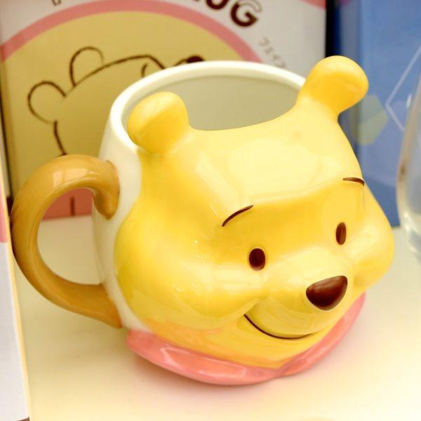 くまのプーさんお顔型マグカップ