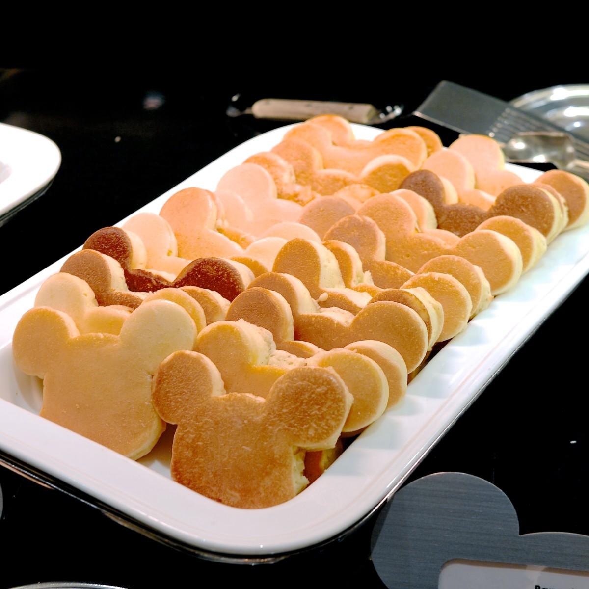 ミッキーパンケーキ