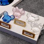 ミッキー&ミニーガラス製箸置きセット