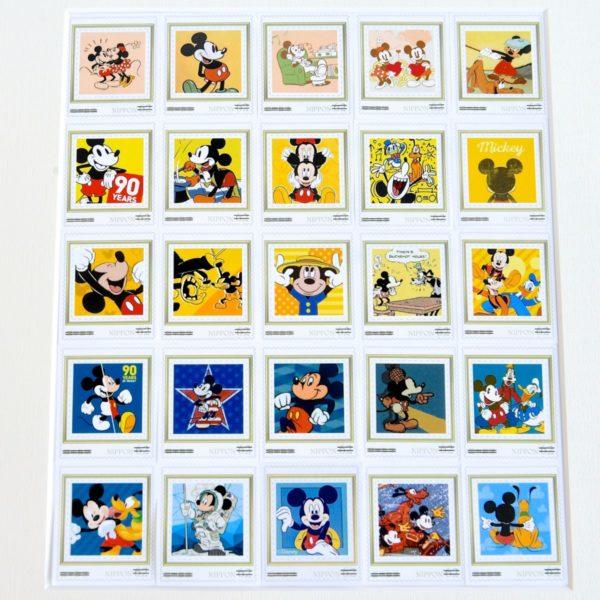 スタンプアートミッキーマウス90周年 スタンプ2