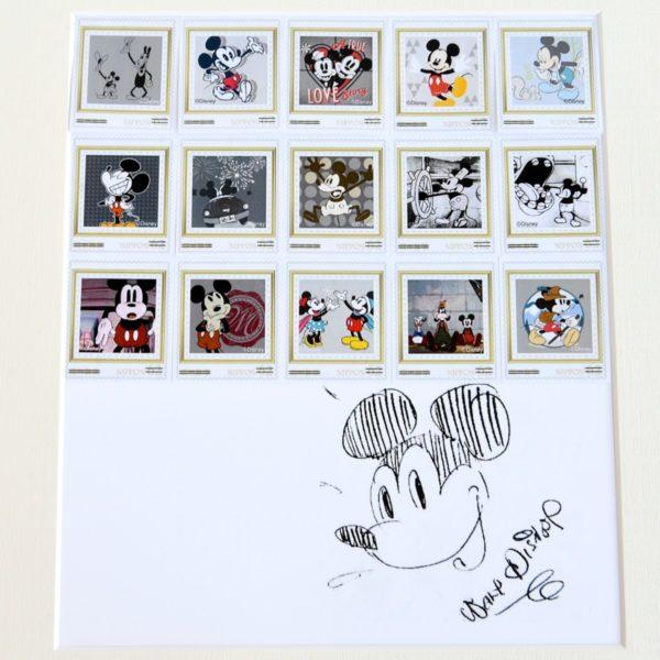 スタンプアートミッキーマウス90周年 スタンプ4