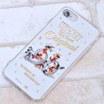 イングレム ディズニー「ミッキーマウス 90周年デザイン」ハイブリッドミラーiPhoneケース