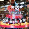歴代チケットなどの総柄アートがかわいい!東京ディズニーランド ミッキーマウス90周年スペシャルグッズ