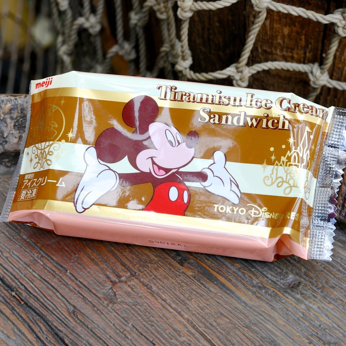 ティラミスアイスクリームサンドウィッチ
