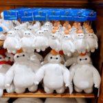 東京ディズニーランド鏡餅風ベイマックスぬいぐるみ・バッジ・ナノブロック