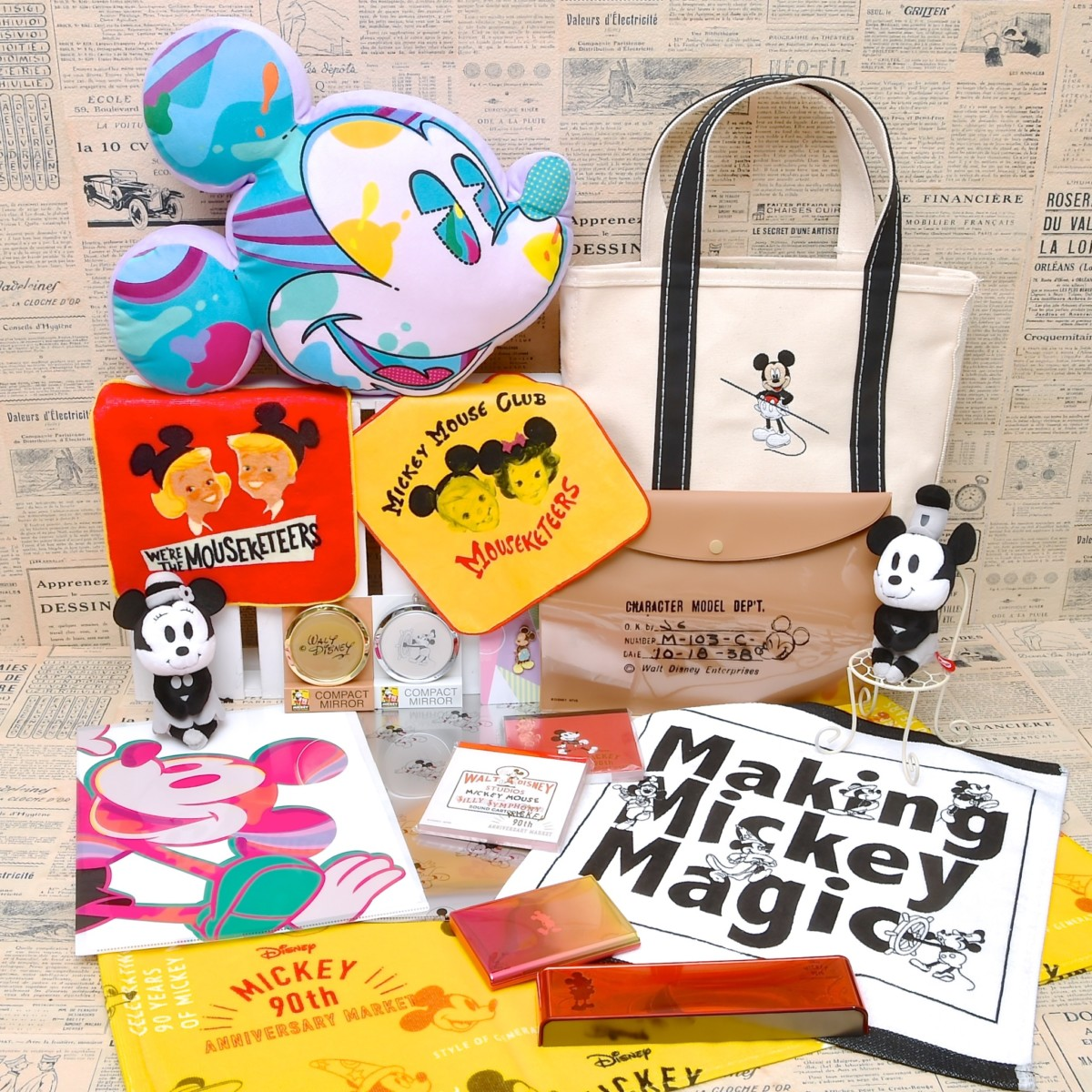 Disney MICKEY 90th ANNIVERSARY MARKET ~STYLE OF GENERATION~