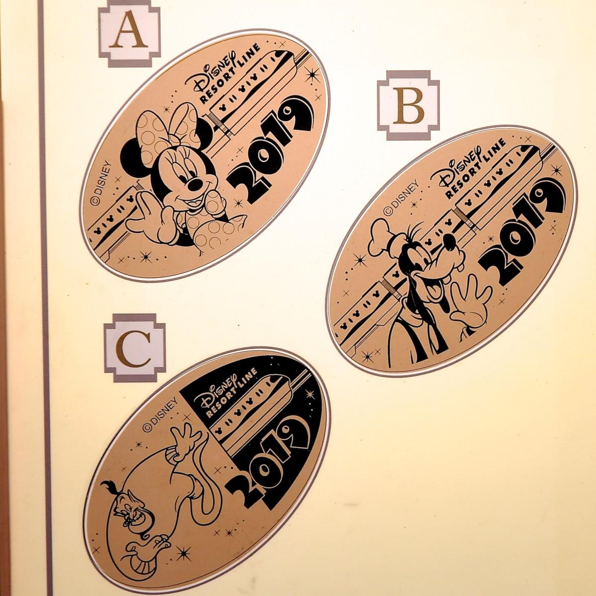 東京ディズニーシーステーション2019イヤリースーベニアメダル