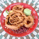 グレートアメリカン・ワッフルカンパニー 季節のワッフル(あずき&抹茶アイスクリーム)