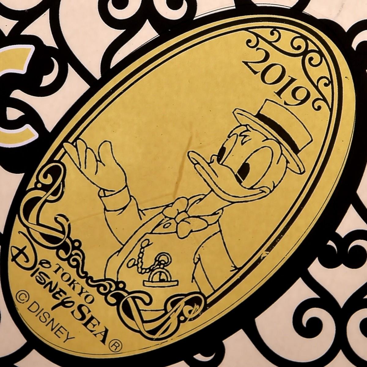 東京ディズニーシー2019年イヤリースーベニアメダル ドナルド